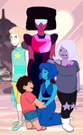 we are the crystal gems by ohmystarrylies