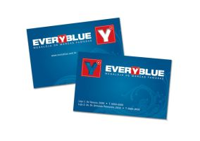 Business Card - Everyblue02 by AllithLumia