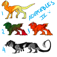Adoptables IV by niteclaw