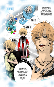 Love Stage Manga: Colord by sugarbabykk