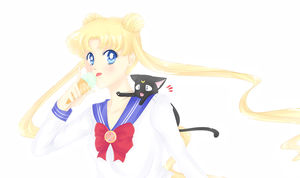 Usagi Tsukino. by Amai-Kawaii