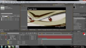 Super Sonic - Adobe After Effects by I-G-imagination