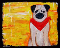 Pug by pinguino