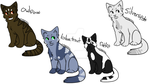 Warrior cats Adopts  Open by Lingyaotrash