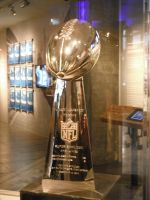 Super Bowl XLVIII Trophy at the EMP by VoyagerHawk87