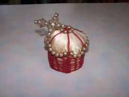 Hand Made Pin Cushion by Spork-Puppy
