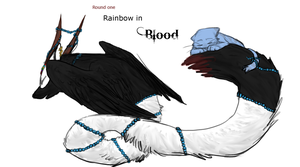ToH R1 Cover- Rainbow in Blood by SnowTheWolf