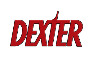 Dexter Logo, No Blood Splatter by CREEPnCRAWL