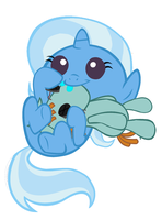 Baby Trixie and Toy Snips by 3D4D