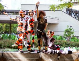 CATS Cosplay Group 2 by Munkustrapp