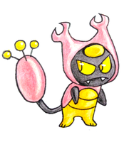 pokemon fusion: Skitty/Karrablast