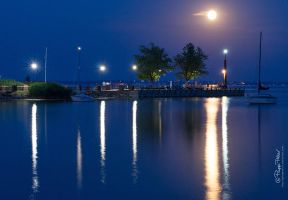 Night at the jetty by PetydeNecro