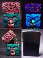 Invader Zippo 1 by Undead-Art