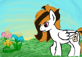First tablet drawing by MusicalToaster