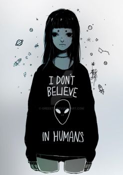Humans by Greesty