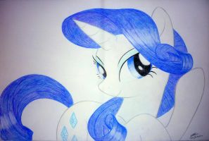 Rarity by BluDraconoid
