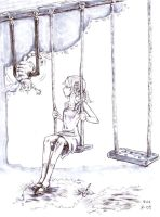 Hang In There by eva-st-clare