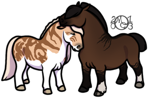 Jasper and Nilla by EverlastingStables