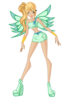 WINX:DAPHNE MAGIC WINX by caboulla