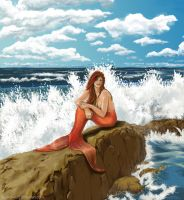 The Enigmatic Mermaid by LeeAnneKortus