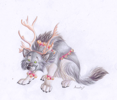 My lovely Rudolf by hecatehell