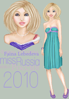 Miss Russia 2010 by bleeding-marble