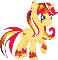 Gothic sunset shimmer by shaynelleLPS