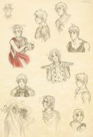 APH - sketches or whatever... by Klopsik-K