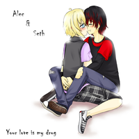 your love is my drug by AderiAsha