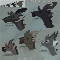 Larger Vachyn-dragon species by DoruDrutt