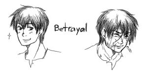 APH line up - Betrayal by randomsketchez