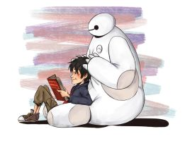 BH6: Chill days by XJustADoodlerx
