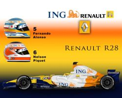 Renault R28 by ShinjiRHCP