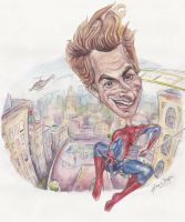 The Amazing Spiderman by Caricatureart