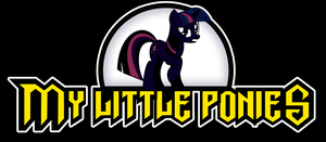 PONIES logo - Alt Media Ver. 2 by Shishioh