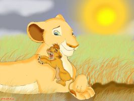 Nala and Kopa by Zoba22