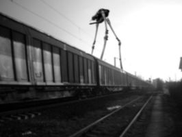 HL2, train tripod by Remaker