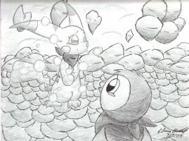 PMD2-Final Farewell by karaskitty