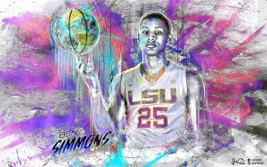 Ben Simmons Wallpaper 2.0 by skythlee