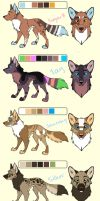 New Breeders - Ref sheet. CLOSED by MichelsAdoptions