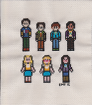 Big Bang Theory Cast by niakane