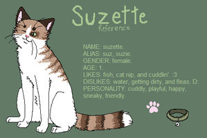 suzette ref by pandapoots