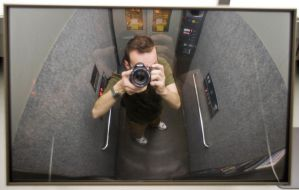 Self Portrait - Tiny Elevator by SuperPope
