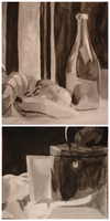 Still Lifes in Ink by ErinPtah