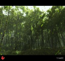 The Emerald Forest Revisited by barrymdesigns
