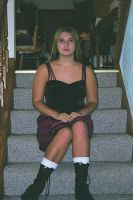 Me in September of 1999 -dress by Thora-T