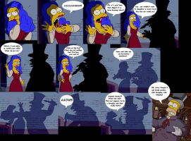 Homer And Marge's Supposive Foreplay by Homey104