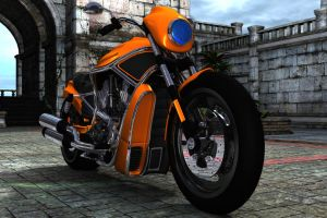 My first Bike 02 by RissingFlower