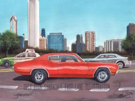 The Life Story Of A 1970 Chevy Chevelle (Part 37) by FastLaneIllustration