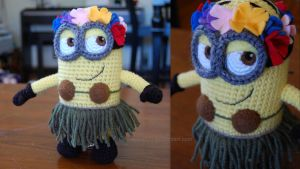 Hawaiian Minion by aphid777